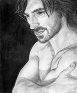 Gwaine5 my drawing