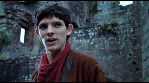 Duel between Merlin and Nimueh