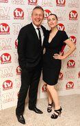 Anthony Head and Katie McGrath