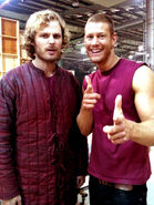 Rupert Young and Tom Hopper Behind The Scenes Series 4