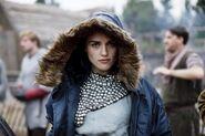 Katie McGrath Behind The Scenes Series 1