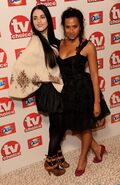Katie McGrath and Angel Coulby-4