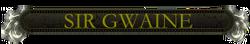 Gwaine nameplate.png