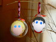 Merlin and king arthur xmas baubles by elyssiel-d4ipfdc