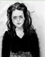 Morgana Pendragon pencil