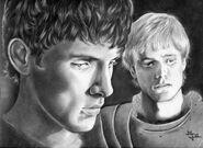 Merlin arthur2 by ENEDNOVIEL no copyright intended