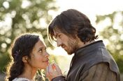 Gwen Angel Coulby and Gwaine Eoin Macken-1