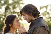Gwen Angel Coulby and Gwaine Eoin Macken-1.jpg