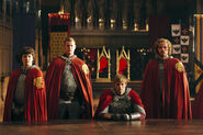 Mordred and others in The Death Song of Uther Pendragon (4)