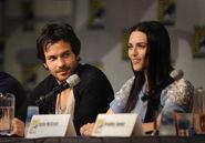 Santiago Cabrera and Katie McGrath Comic Con 2011
