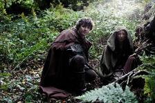 Mordred and kara hiding