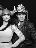 Katie McGrath and Colin Morgan Series 4 Wrap Party-2