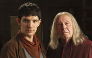 The dark tower merlin and giaus