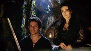 Morgana and Lancelot