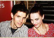 Colin Morgan and Katie McGrath