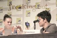 Katie McGrath and Colin Morgan Comic Con 2012 Merlin Panel