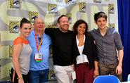 Merlin Cast and Crew Comic Con 2012