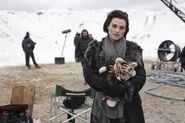 Katie McGrath Behind The Scenes Series 5-3