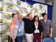 Merlin Cast and Crew Comic Con 2012-2