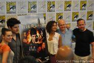 Merlin Cast and Crew Comic Con 2012-5