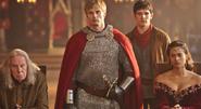 Gaius Arthur Merlin and Gwen