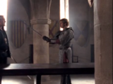 Duel between Arthur and Uther
