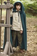 Mordred enfant