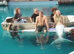 Aquamarine End Board Scene