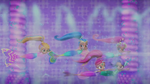 Mermaids in Strong Current
