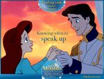 The Little Mermaid Diamond Edition Finding Your Voice Means Knowing when to Speak Up Promotion