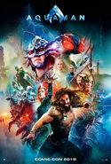 Aquaman Comic-Con Poster