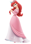 Ariel Looking Shyly