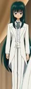 Rina white tuxedo outfit ep24
