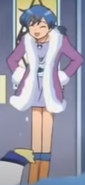 Hanons winter outfit from ep44