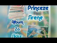 Princeze Sirene album za sličice Luxor - Mermaid Melody