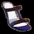 Hanon dark blue shoes