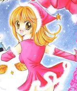 Lucias christmas manga outfit1