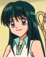 Rina green headband