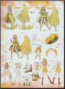 Coco Clothes And Mermaid Diagram.
