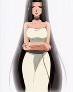 Sara casual outfit black hair1