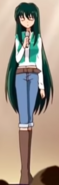 Rina casual outfit from pure ending1