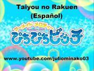 Mermaid Melody Pichi Pichi Pitch - Taiyou no Rakuen (Canción Completa en Español)