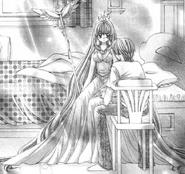 Lucia aqua regina outfit ch32