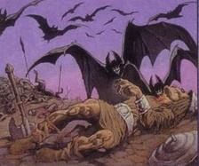 Giant cave bats