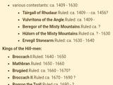 Kings of Rhudaur