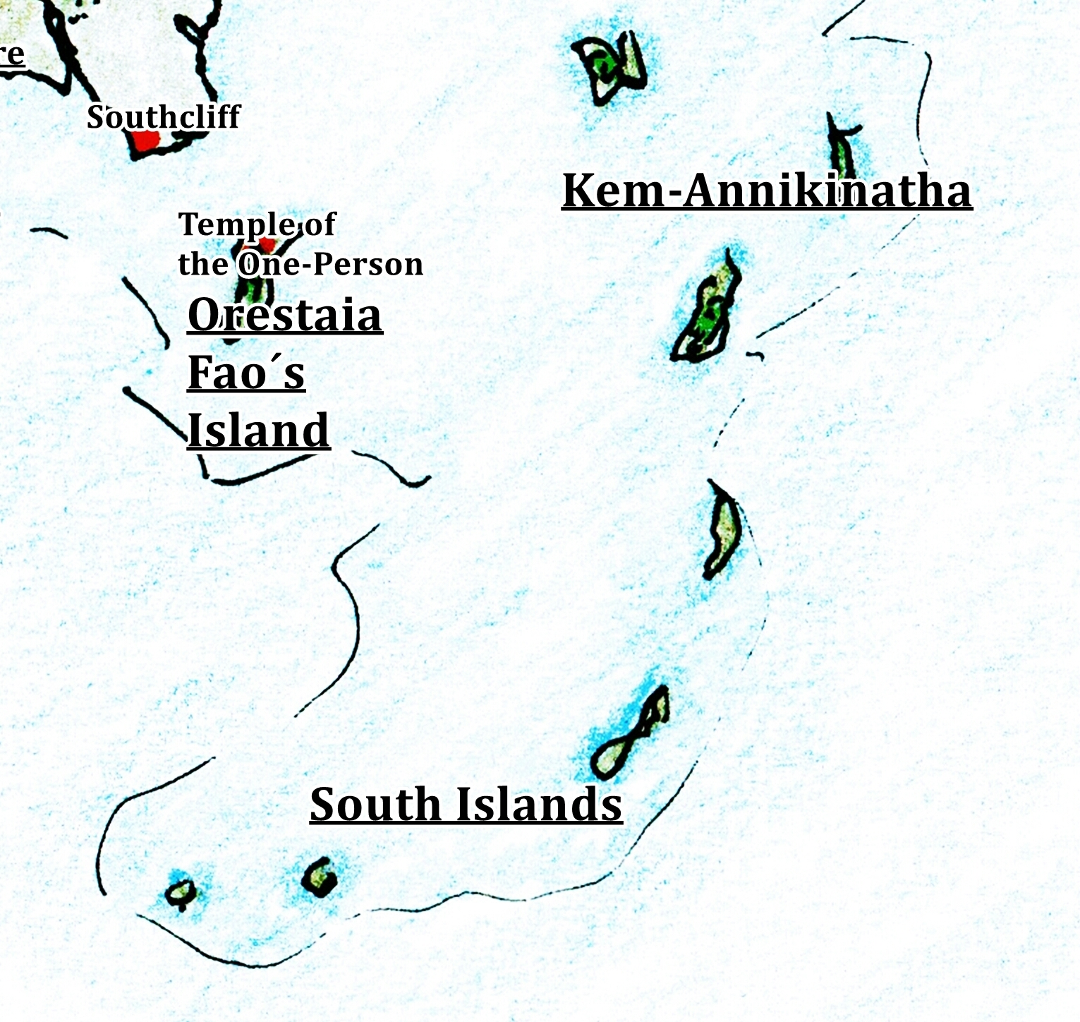South Islands