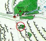 MERP 8010 - Bree and the Barrow-Downs Bar-en-Dindol location