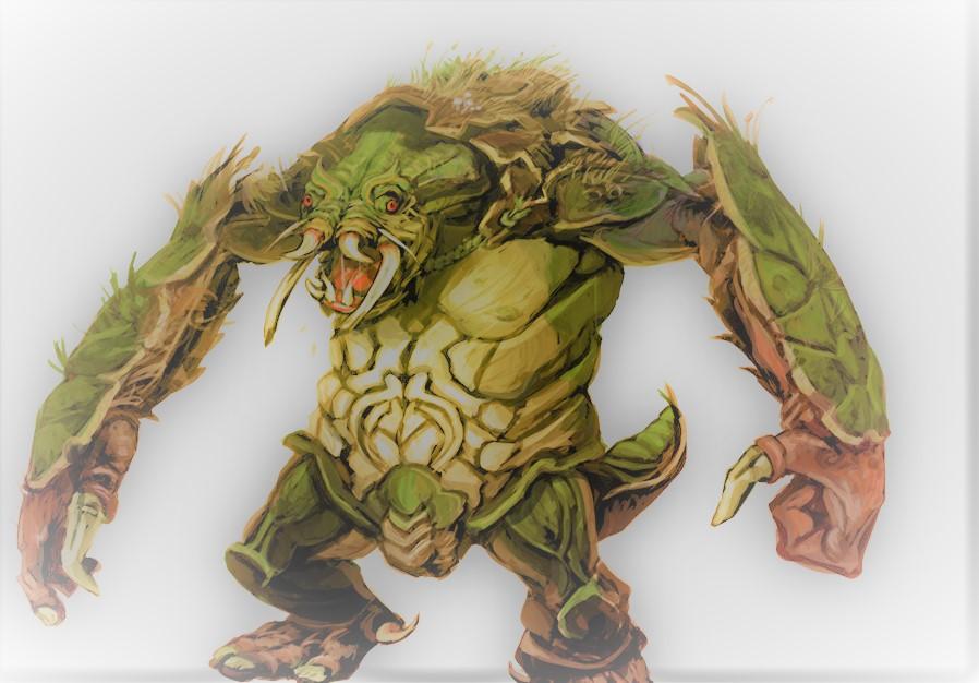 Swamp-Trolls