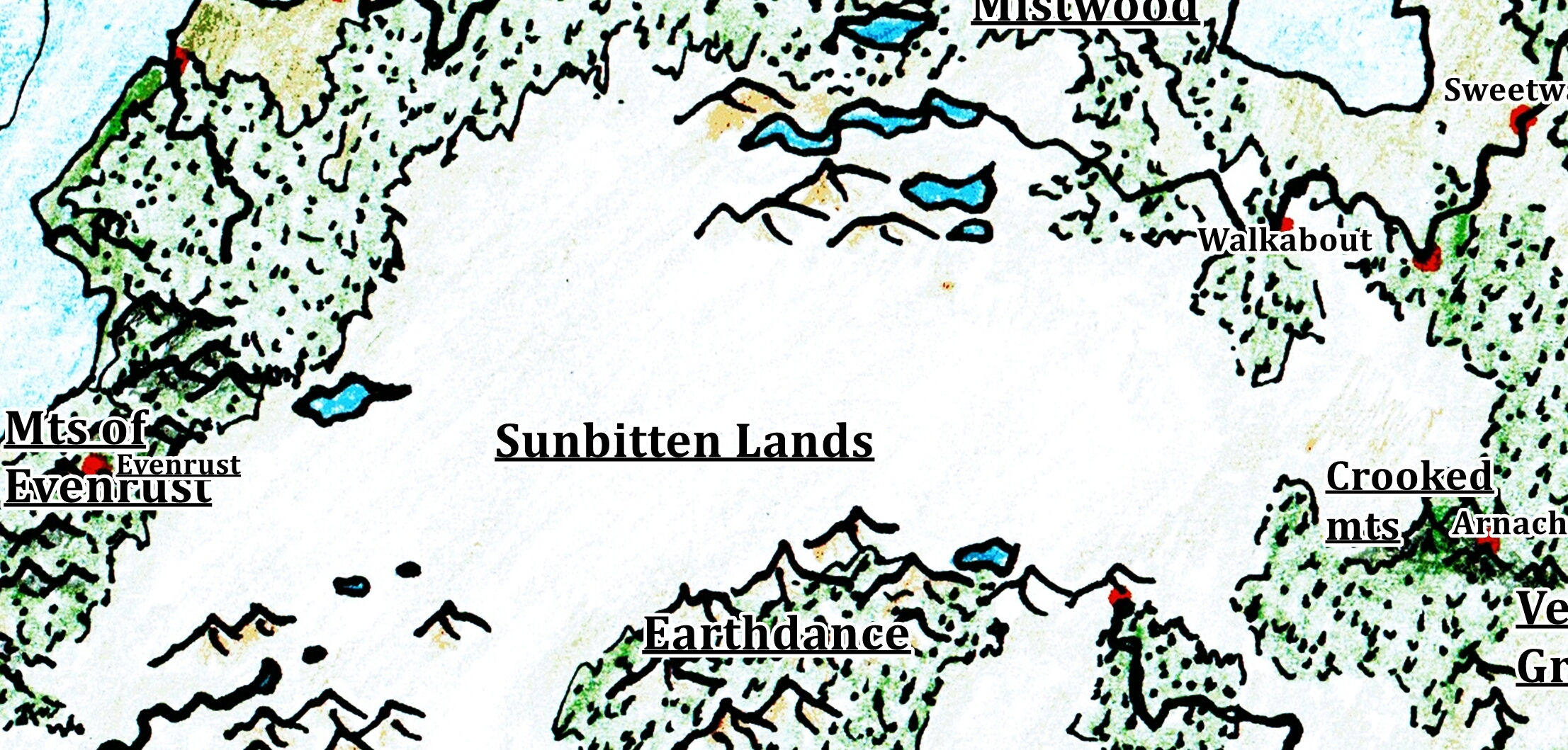 Sunbitten Lands