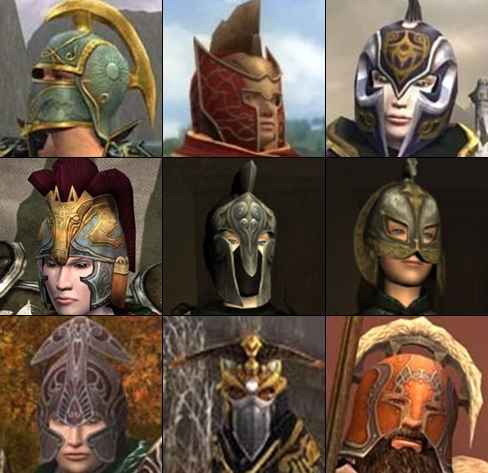 Crested helm